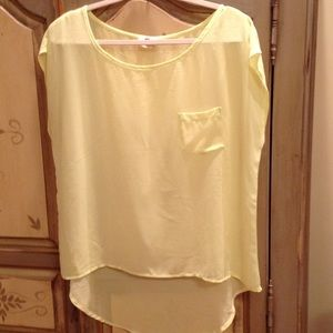Tops - 3 sheer tops assorted size L